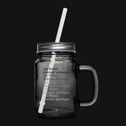 LEO TECHNICAL Rivard - Mason Jar