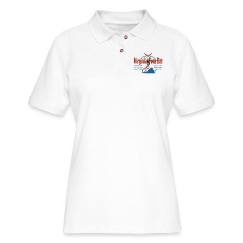 VFN 3947 Logo - Women's Pique Polo Shirt
