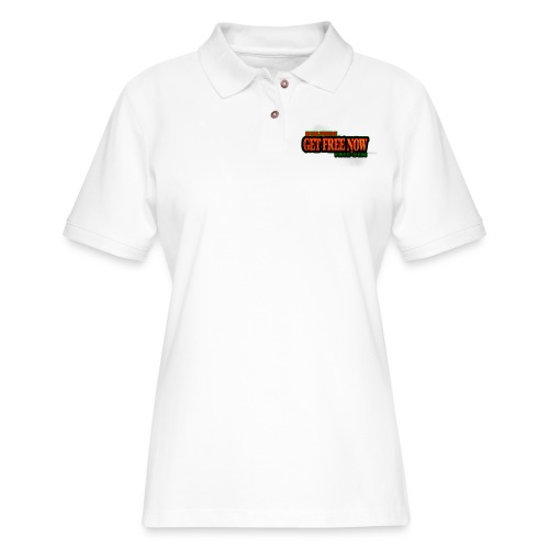 The Get Free Now Line - Women's Pique Polo Shirt