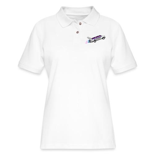 Rocketship - Women's Pique Polo Shirt