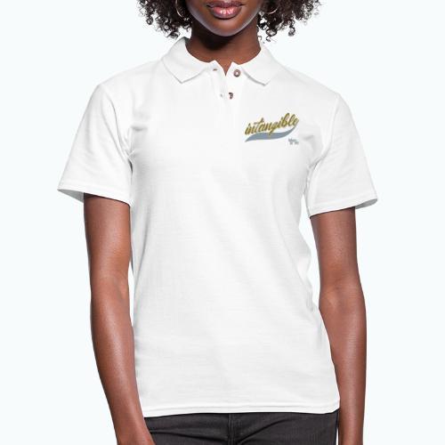 intangible png - Women's Pique Polo Shirt