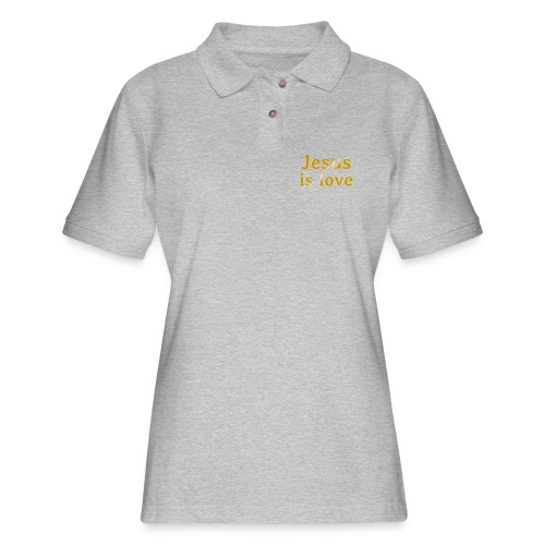 Jesus is love - Women's Pique Polo Shirt