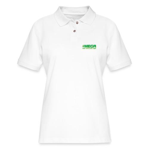 #MEGA - Women's Pique Polo Shirt