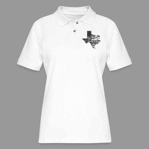 Real Texas - Women's Pique Polo Shirt