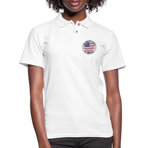 The United States of America - USA - Women's Pique Polo Shirt