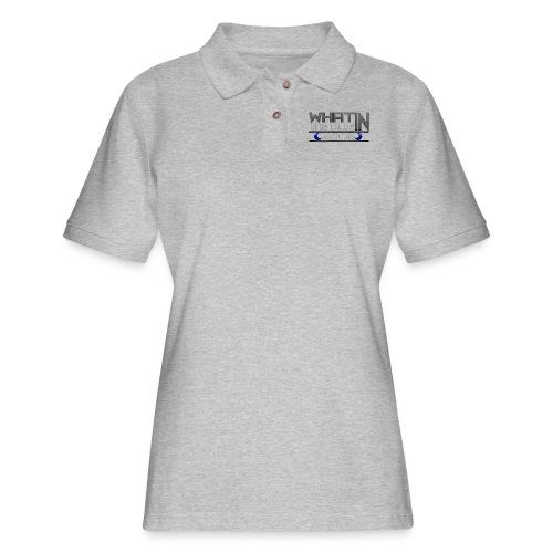 What in the BLUE MOON T-Shirt - Women's Pique Polo Shirt