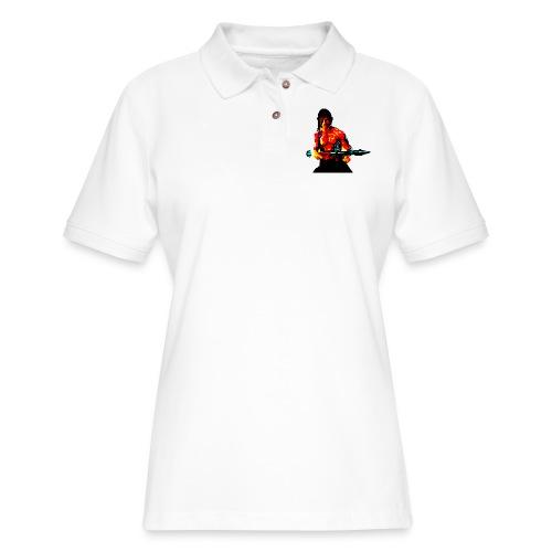 War - Women's Pique Polo Shirt