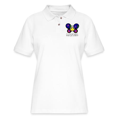 Camelia Second System - Women's Pique Polo Shirt