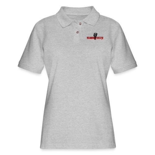 TEAMHEEL PODCAST TEE - Women's Pique Polo Shirt