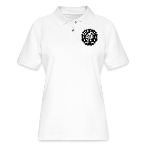 Step Show Squad #2 Design - Women's Pique Polo Shirt