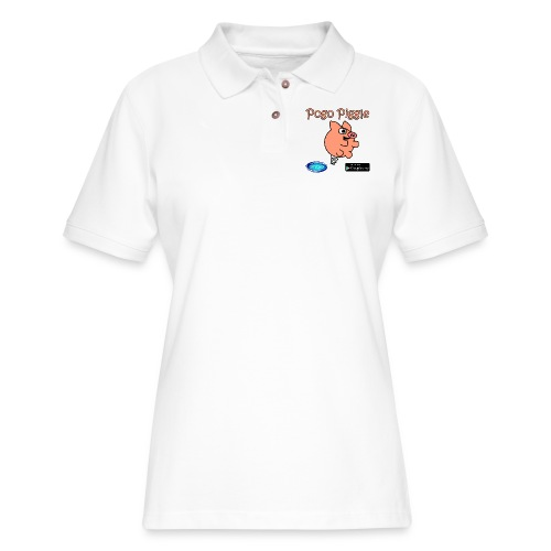 Pogo Piggle - Women's Pique Polo Shirt