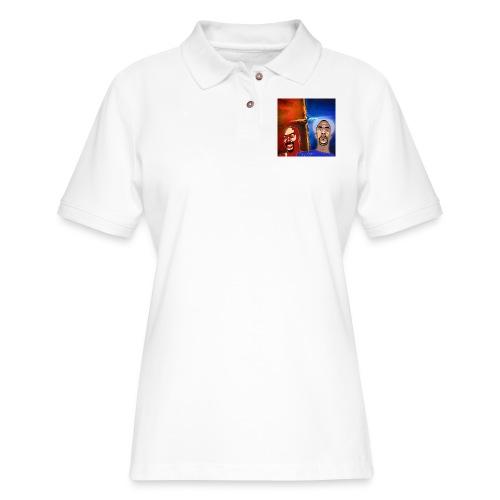 pretty tony galaxy 7 edge case - Women's Pique Polo Shirt