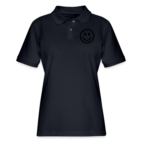 smile dude t-shirt kids 4-6 - Women's Pique Polo Shirt