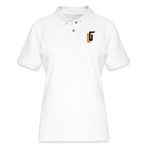 Lil Gucci Logo Hoodie - Mens - Women's Pique Polo Shirt