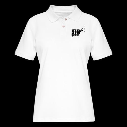 RKStudio Black Version - Women's Pique Polo Shirt