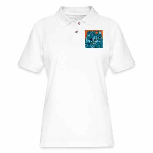 Rant Street Swag - Women's Pique Polo Shirt