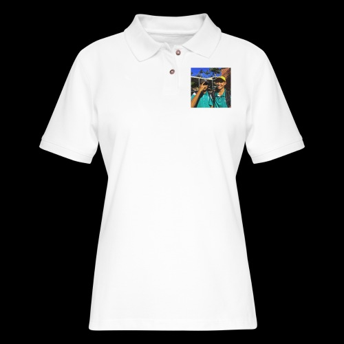 wasted youth. - Women's Pique Polo Shirt