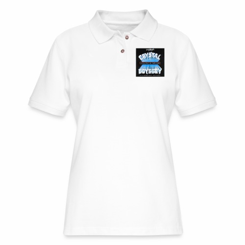 Laserium Crystal Osyssey - Women's Pique Polo Shirt