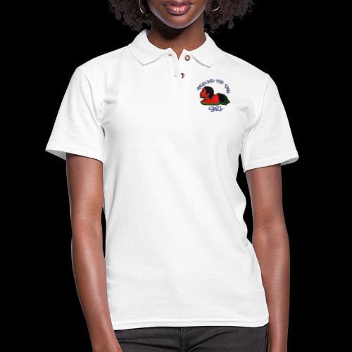Around The Way Girl - Women's Pique Polo Shirt