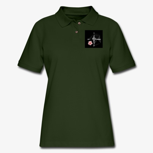Roses and their thorns - Women's Pique Polo Shirt