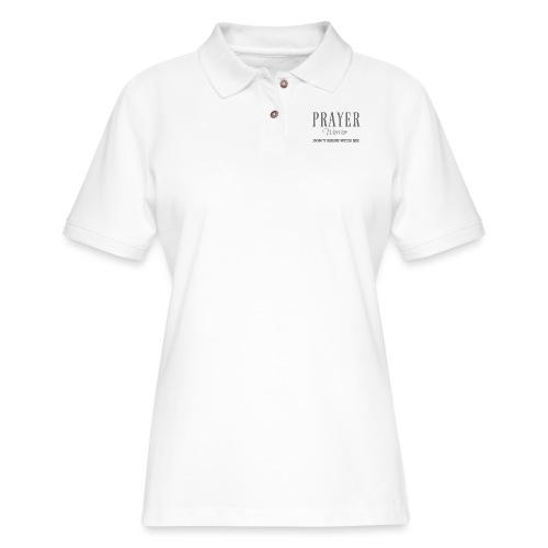 Prayer Warrior - Women's Pique Polo Shirt