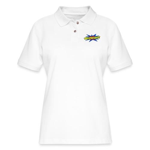 Awesomesauce - Women's Pique Polo Shirt