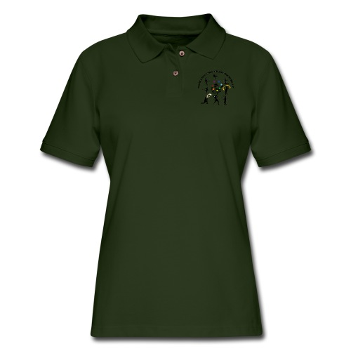 You Know You're Addicted to Hooping & Flow Arts - Women's Pique Polo Shirt