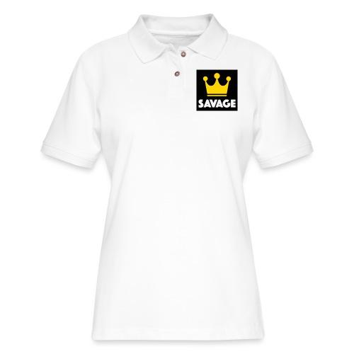 f3107e4e 9dde 42f7 9a36 7455dd2598f8 - Women's Pique Polo Shirt