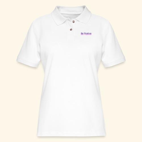 BePositive - Women's Pique Polo Shirt