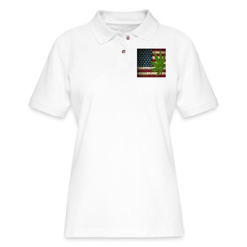 Political humor - Women's Pique Polo Shirt