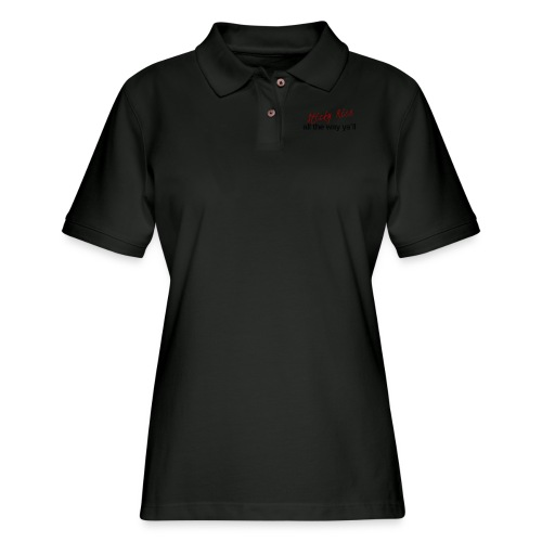 Sticky Rice - Women's Pique Polo Shirt