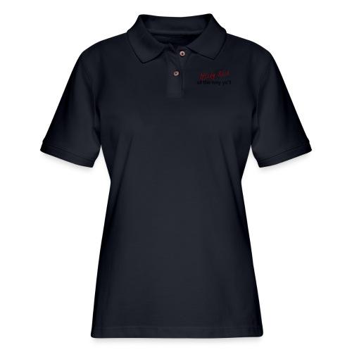 Sticky Rice - Women's Pique Polo Shirt