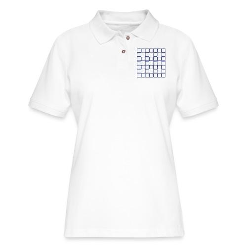 Sequence - Women's Pique Polo Shirt