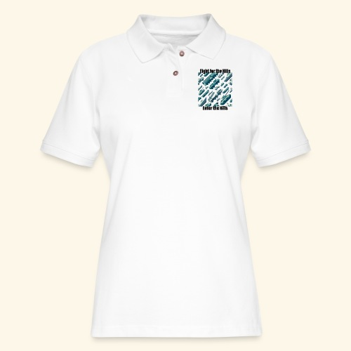 Fight or Enter - Women's Pique Polo Shirt
