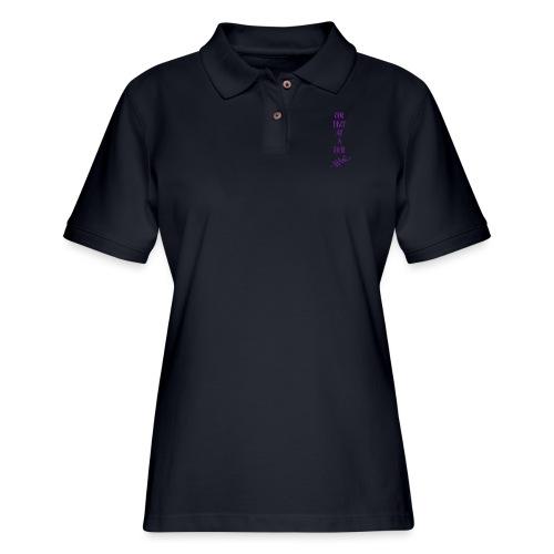 One drop at a time - Women's Pique Polo Shirt