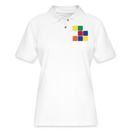Cube - Women's Pique Polo Shirt