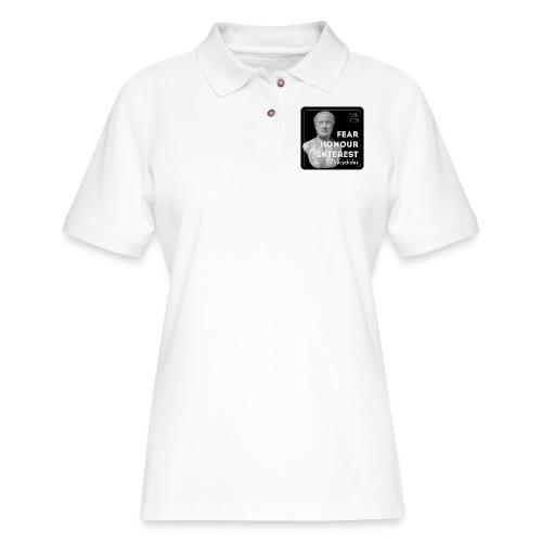 Fear, Honour, Interest - Women's Pique Polo Shirt