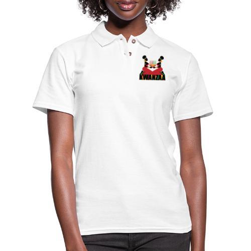 Kwanzaa - Women's Pique Polo Shirt