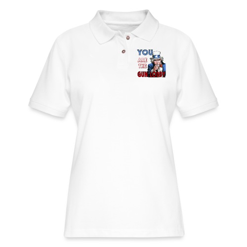 YOU Are The Gun Lobby - Women's Pique Polo Shirt