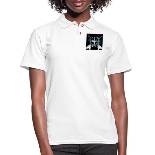 masked guns - Women's Pique Polo Shirt
