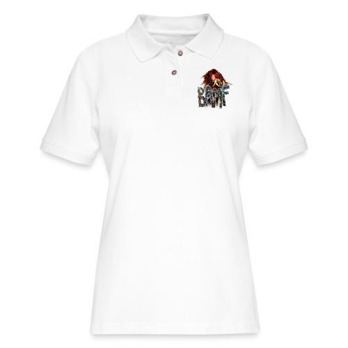 phoenix png - Women's Pique Polo Shirt