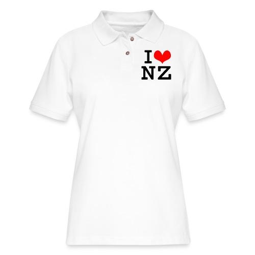 I Love NZ - Women's Pique Polo Shirt