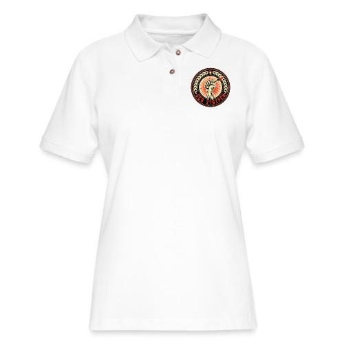 Der Stripen - Women's Pique Polo Shirt