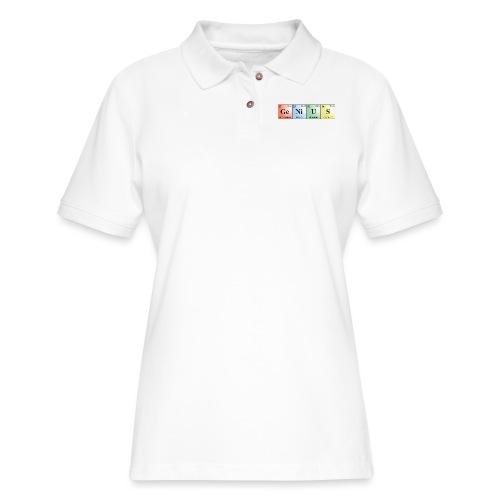 GeNiUS - Women's Pique Polo Shirt
