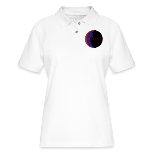 This Is Not A Moon - Women's Pique Polo Shirt