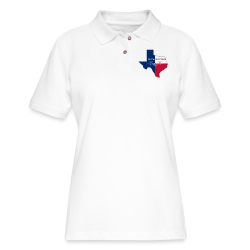Drone Star State - Women's Pique Polo Shirt