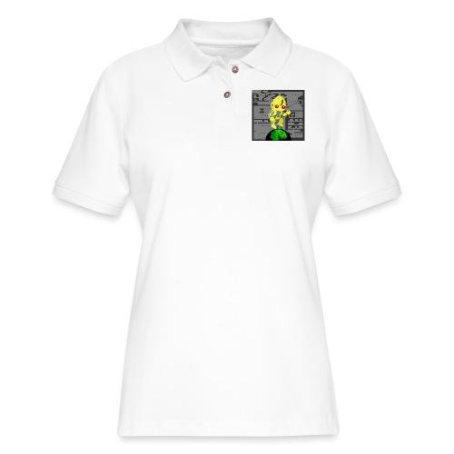 Hollow Earth Woman - Women's Pique Polo Shirt
