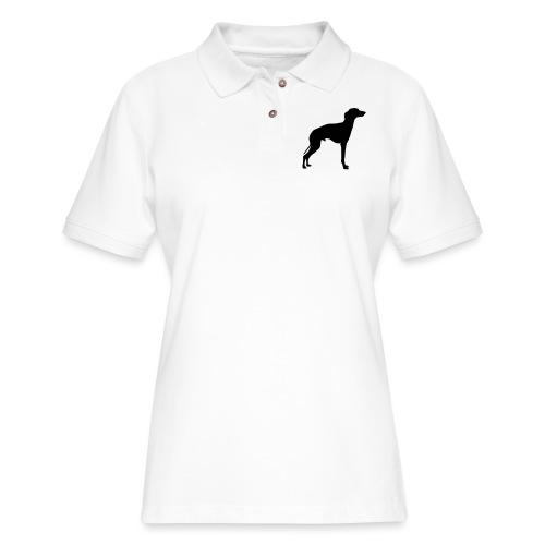 Italian Greyhound - Women's Pique Polo Shirt