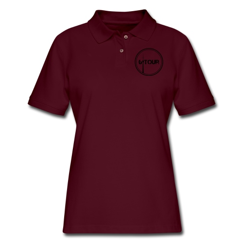 6 Tour Seasonal Apparel - Women's Pique Polo Shirt