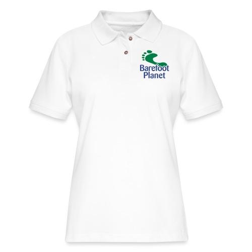 I Run Better, I Run Barefoot Women's T-Shirts - Women's Pique Polo Shirt